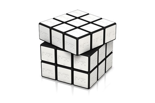 braille cube