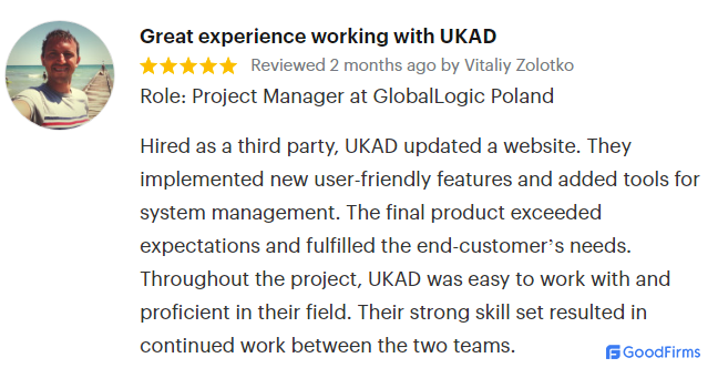 UKAD Ecommerce Review