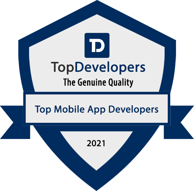 UKAD recognized as a Top Mobile App Development Company of 2021 by TopDevelopers.co